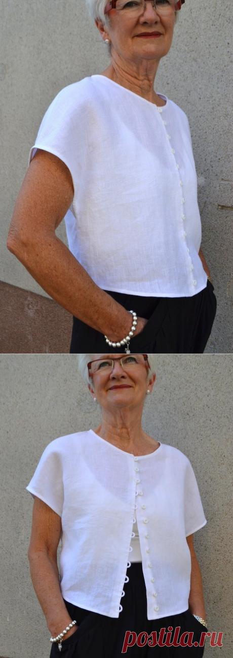 Judy Top Pattern – Tessuti Fabrics - Интернет-магазин тканей