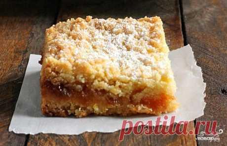 Тертый пирог с вареньем - пошаговый рецепт с фото на Повар.ру