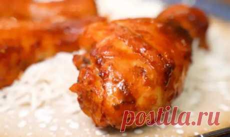 Курицу запекаю в таком классном маринаде. Получается обалденно вкусные куриные ножки в духовке - Скатерть-Самобранка - медиаплатформа МирТесен