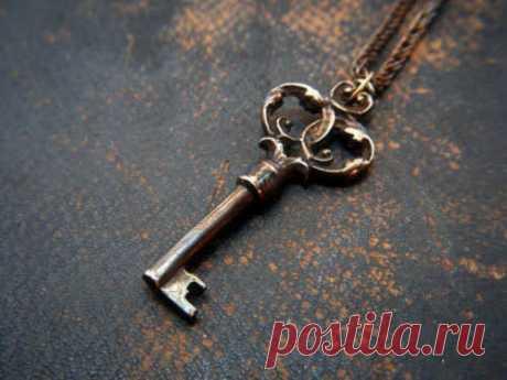 Сильный ритуал «Ключ удачи» на успех, благополучие и исполнение задуманного...