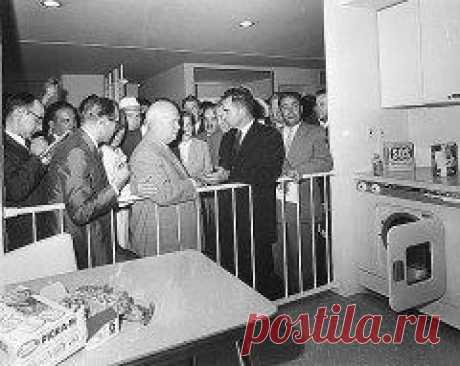 Сегодня 25 июня в 1959 году В Москве открылась первая в СССР Американская национальная выставка