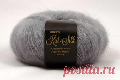 Пряжа Kid-Silk uni color купить по выгодной цене с доставкой по Москве и России