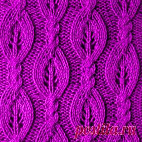 Коса — дивная краса: 10 вариантов ажурных кос спицами | Paradosik_Handmade | Яндекс Дзен