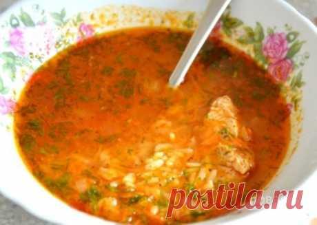 """Простой суп """"Харчо"""" - пошаговый рецепт с фото на Повар.ру"""