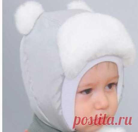 шапочка зимняя для новорожденного | https://nitkoy.ru/
