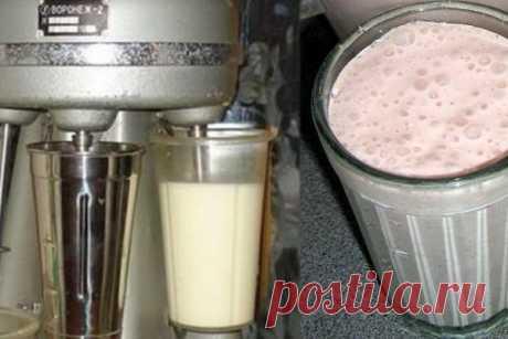Молочный коктейль родом из детства Для приготовления этого напитка, нужно знать один маленький секрет, без которого приготовление настоящего советского коктейля невозможно.