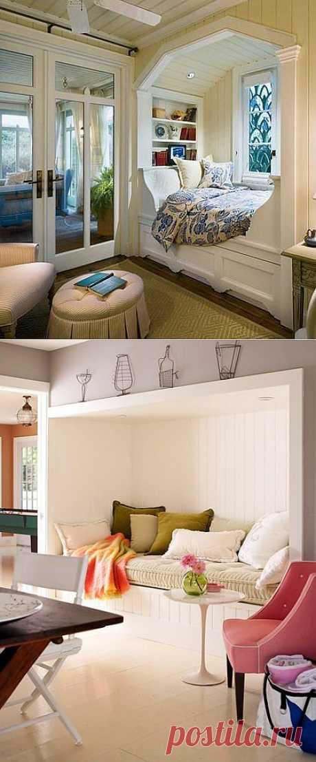 Спальная ниша: комната в комнате
