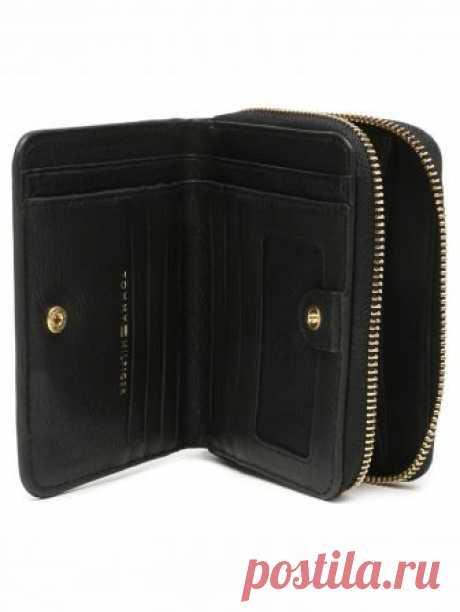 Женский кошелек Tommy Hilfiger цвет черный за 3 799 Р