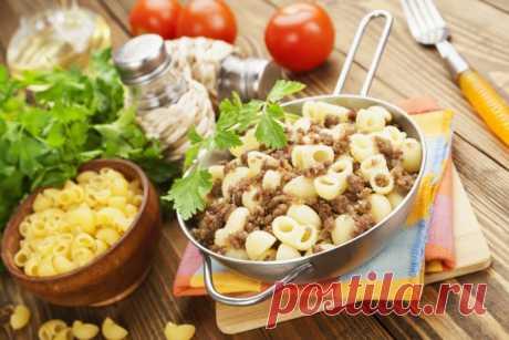 Рецепт макарон по-флотски - Великий повар - пошаговые фоторецепты