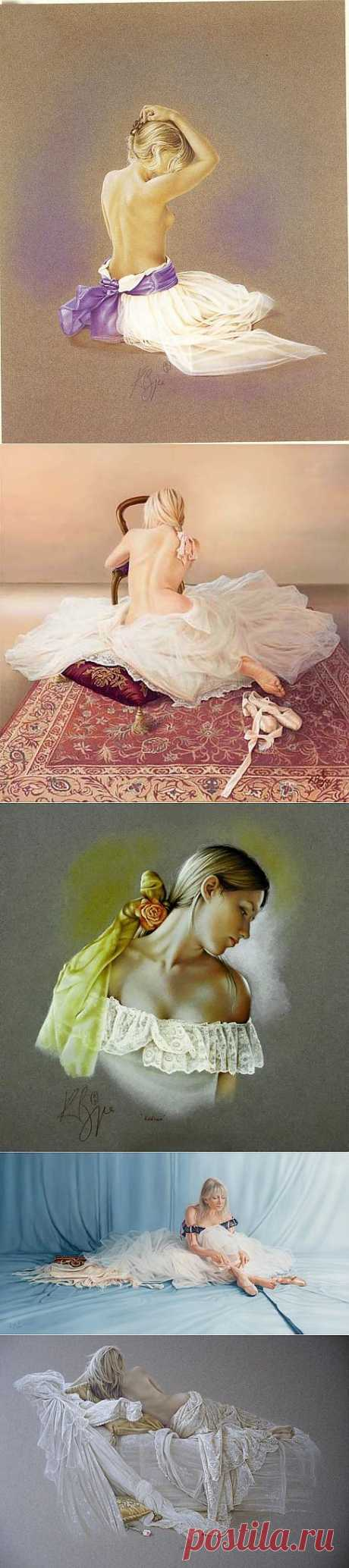 Пастели на тему балета. Kay Boyce.