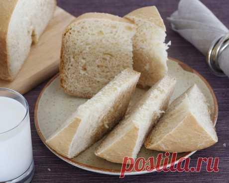 Рецепт: Пшеничный хлеб с хрустящей корочкой в мультиварке-хлебопечке - рецепты POLARIS