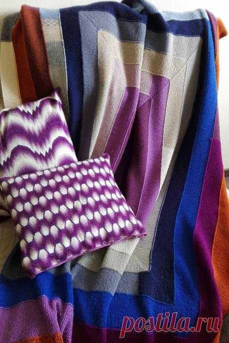 Blanket knittedhandmade blanketwool blanketknitted | Etsy