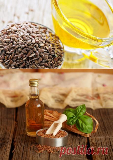 Льняное масло для лица – одно из лучших средств от морщин