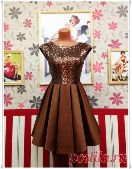 Мастер-класс по пошиву очень красивого платья своими руками