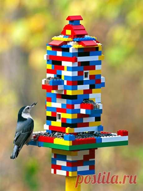 10 гениальных способов использования Lego в быту / Домоседы