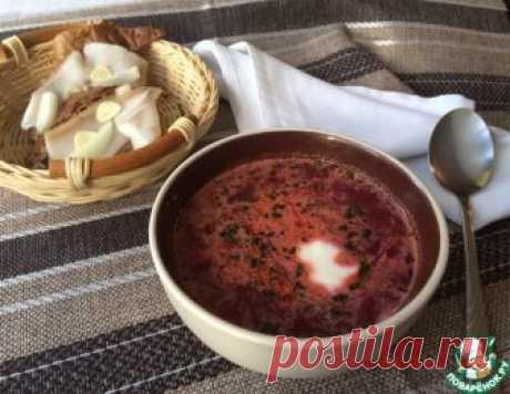 Борщ по-петровски – кулинарный рецепт