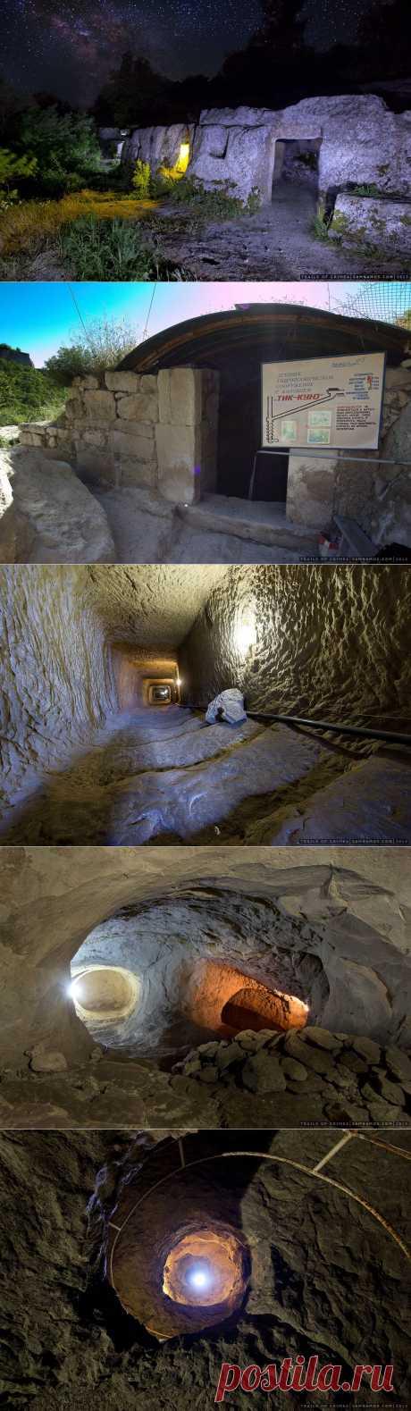прогулка по пещерным городам Крыма