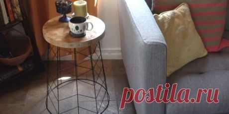Мастерим журнальный столик в домашних условиях / Как сэкономить