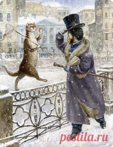 Питерские сказки...о котах. » Nibler.ru - мой маленький уютный уголок
