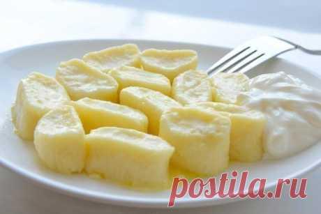 Como preparar tierno perezoso vareniki en завтраку - la receta, los ingredientes y las fotografías