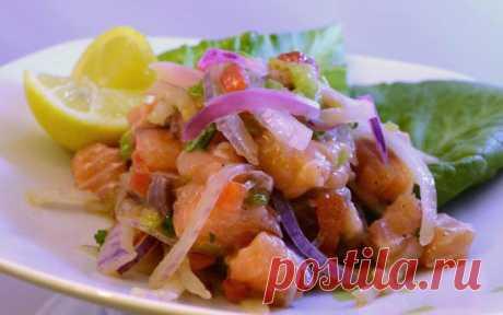 Пикантное Севиче из семги: рецепт вкусного блюда