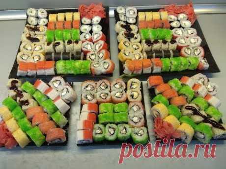 Пошаговый рецепт приготовления роллов(суши).Как я готовлю роллы. Ещё видео с роллами- https://www.youtube.com/watch?v=1i4x0SDu674&t=820s Приветствуем всех на...