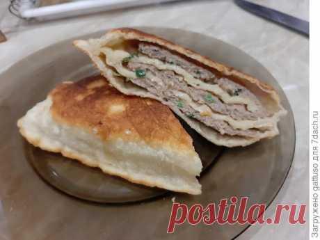 Китайские лепешки с мясом - пошаговый рецепт приготовления с фото
