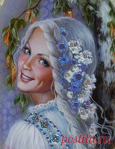 Картины на камне Беловодовой Светланы