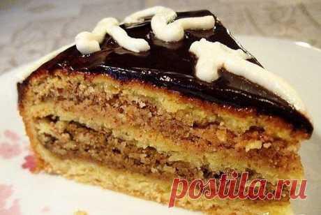 ТОРТ «ОРЕХОВЫЕ МОТИВЫ» - Простые рецепты Овкусе.ру