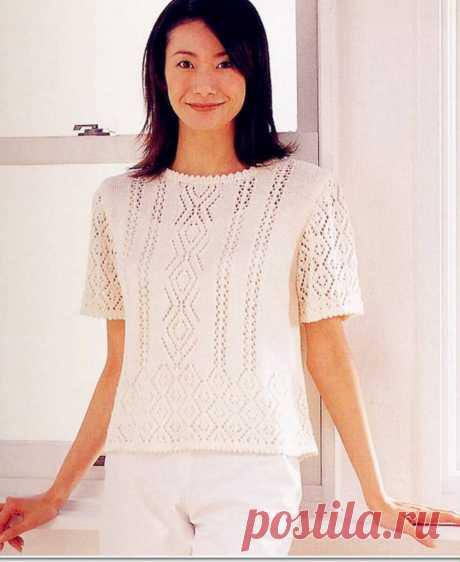 Ажурная подборка пуловеров для вязания.🌺 | Asha. Вязание и дизайн.🌶 | Яндекс Дзен
