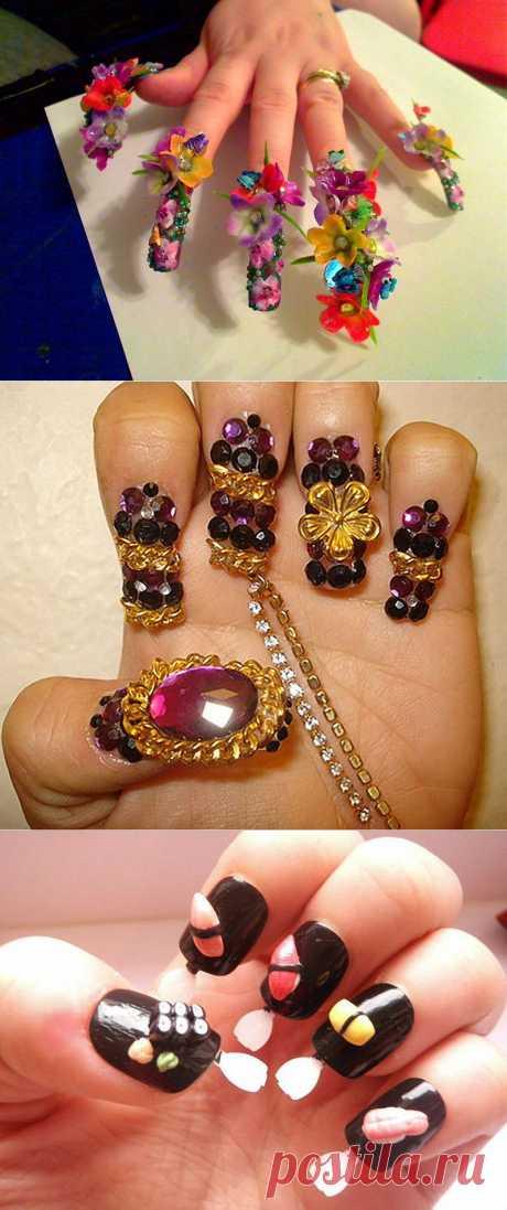 13 фотографий ногтевого дизайна, которые поражают воображение : НОВОСТИ В ФОТОГРАФИЯХ