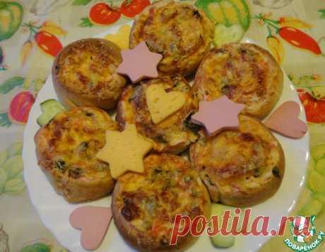 """Закуска """"Крабовые пенёчки"""" – кулинарный рецепт"""