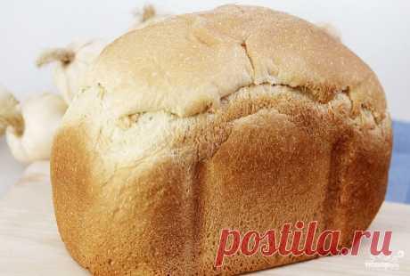 Чесночный хлеб в хлебопечке - кулинарный рецепт с фото на Повар.ру
