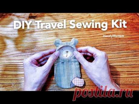Швейный набор для путешествий своими руками. Пэчворк и аппликация