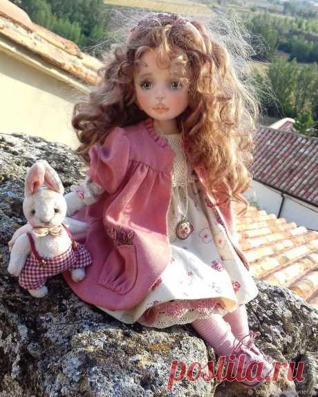 Милые куклы ручной работы. Автор Lana K