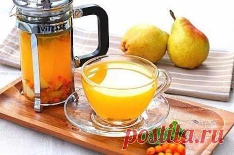 Облепиховый чай — Мегаздоров