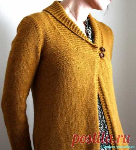 Larch Cardigan by Amy Christoffers