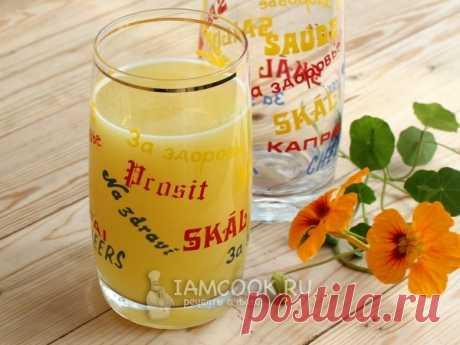 Напиток из сыворотки с сиропом — рецепт с фото