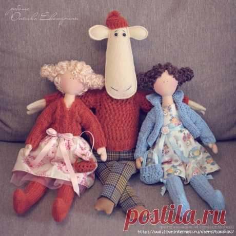 Куклы и Игрушки Онешко Екатерины с выкройками