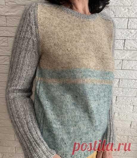 Пуловер без швов Frame - Вяжи.ру