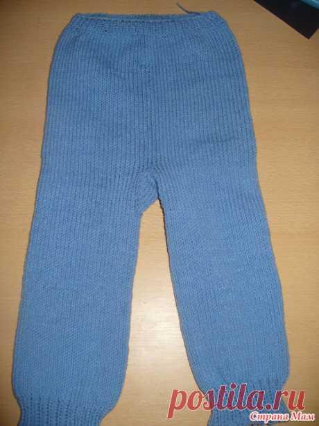 Los pantalones para el chiquitín por los rayos (como los tejo) - el País de las Mamás
