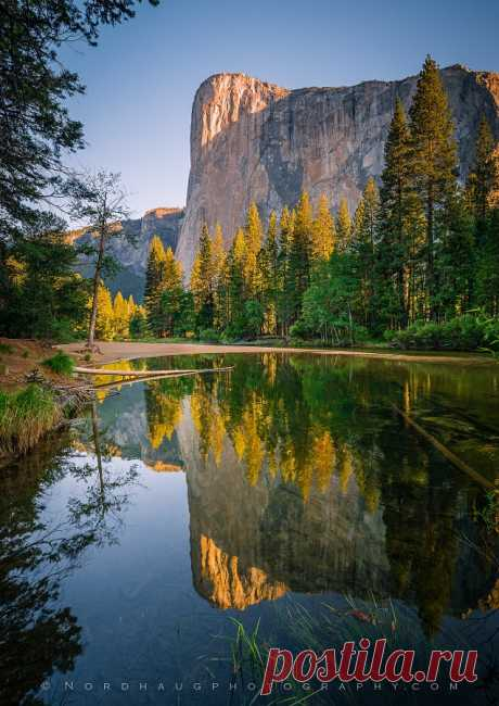 """goldfinchthistle: """" """"El Capitan Relections"""" by Dag Ole Nordhaug """""""