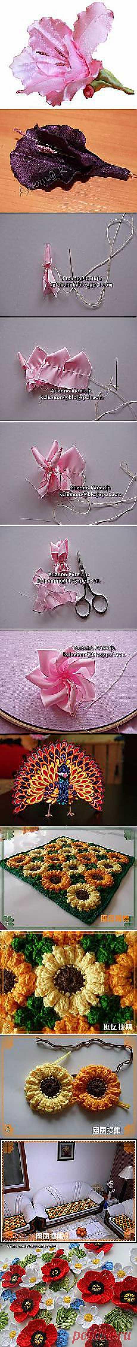 цветы, украшения Татьяна Воронцова: рукоделье | Постила.ru