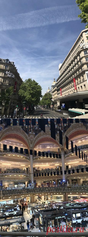 Шоппинг в Париже, Галерея Лафаетт