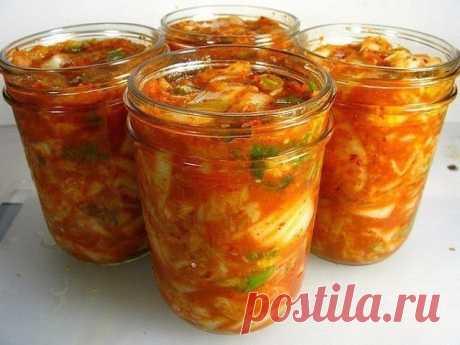 Вкуснейший салат с кабачками, перцем и помидорами