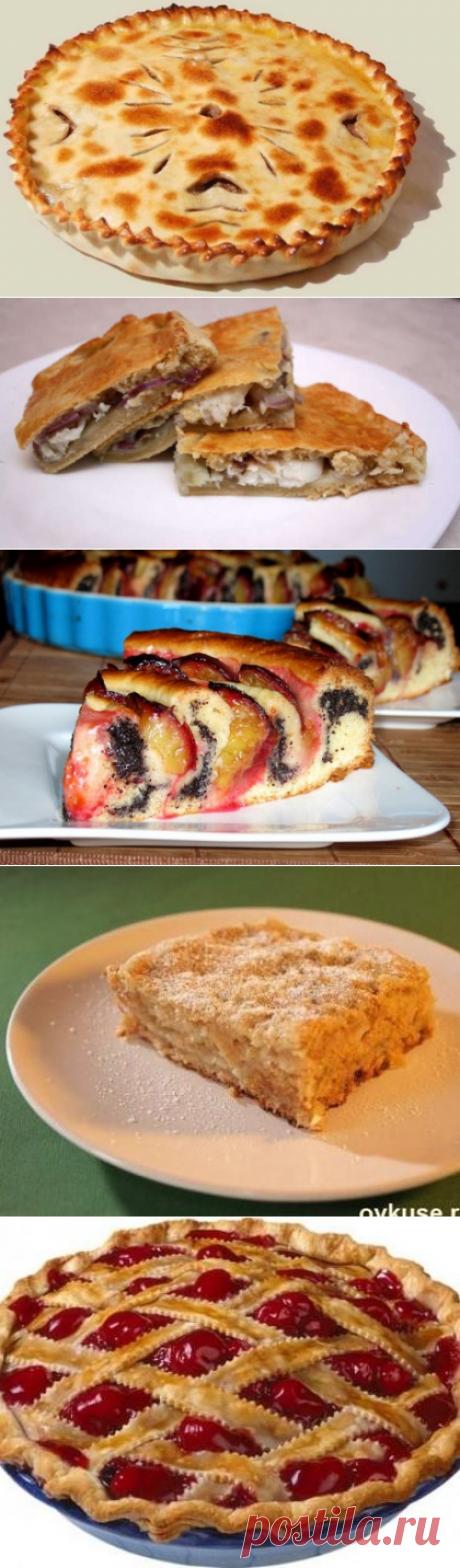 Рецепты самых быстрых сладких и несладких пирогов / Простые рецепты