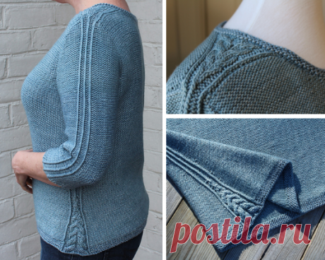 Вязаный пуловер Stillwater | ДОМОСЕДКА