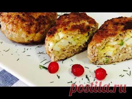 Мне хотелось порадовать вас этим блюдом.Самые вкусные котлеты с начинкой или мясные зразы с яйцом.