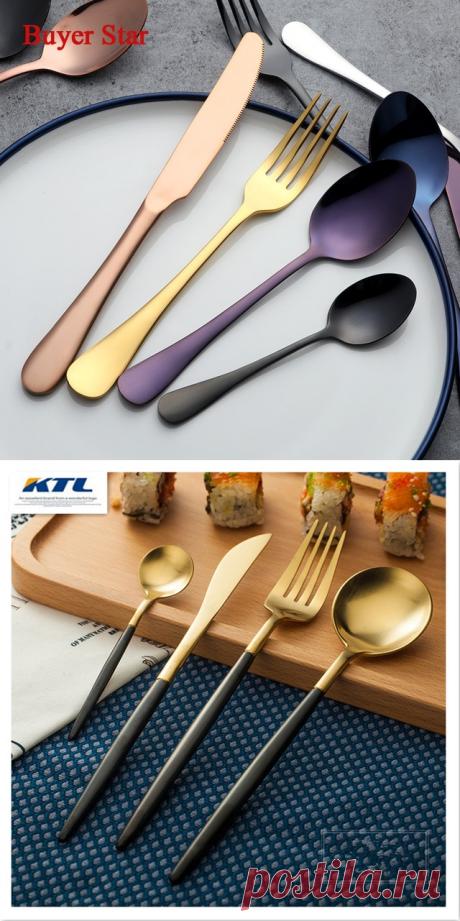 Необычные и стильные наборы столовых приборов с Алиэкспресс | Алиэкспресс Обзор
