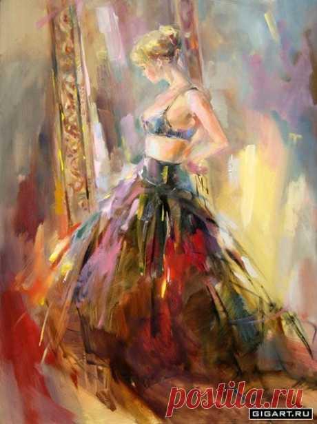 Художница Анна Разумовская...* - 76 фото. Фотографии Валерий Семкив.